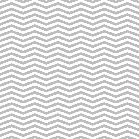 Zigzag vector seamless pattern in flat style Illustration