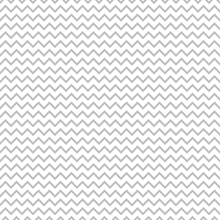 Geomentic vector seamless pattern with light grey zigzag tracery in flat style