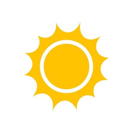 Sun icon, vector clipart for graphic and web design Ilustração