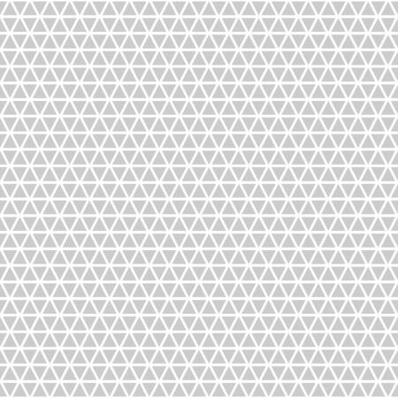 Geometric vector seamless pattern with light gray triangles.