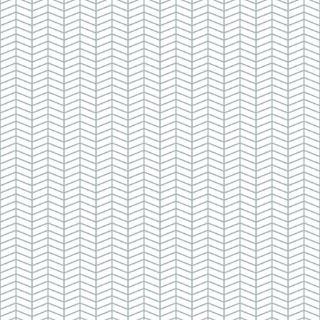 Simple linear vector geometric seamless pattern in flat style. Ilustração