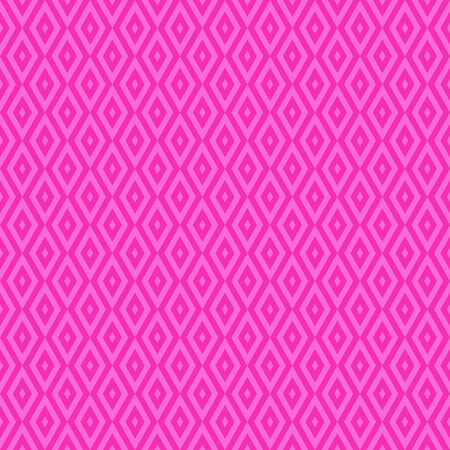 Pink cute geometric vector seamless pattern in flat style.