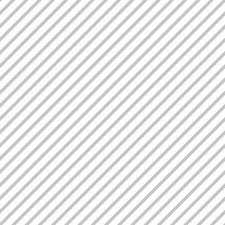 Seamless vector pattern with diagonal stripes in gray color.