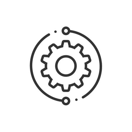 Customer technical support vector web flat icon