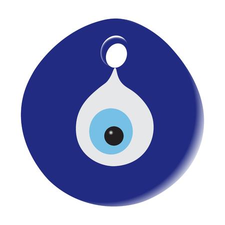 Illustration blye amulet fisheye