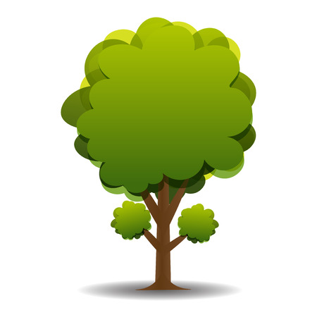 green olive: A stylized drawing of a green olive. Vector illustration