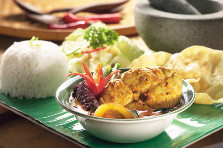 curry: Curry de pescado