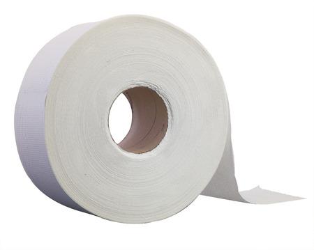 Jumbo toilet paper roll Standard-Bild