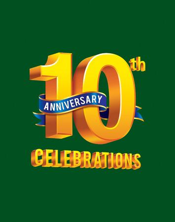20 30: 10th anniversary celebrations Stock Photo