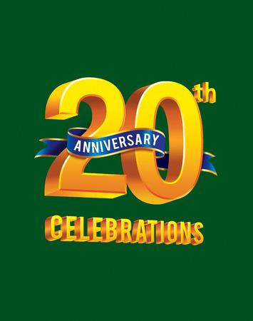 20th: 20th anniversary celebrations