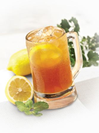 ice lemon tea: Ice lemon tea Stock Photo