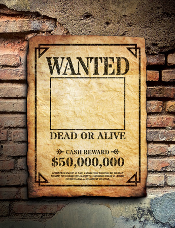 poster wall: Wanted Poster