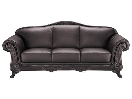 Leather sofa photo