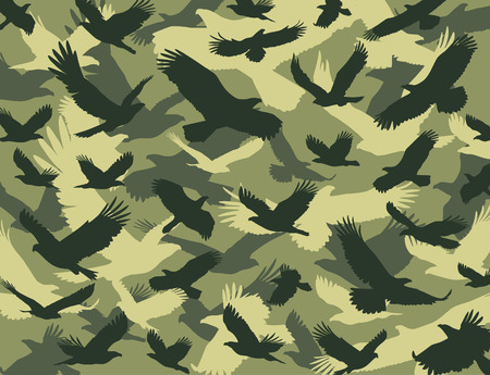 color conceal: Eagle camouflage