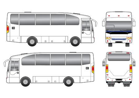 tourist bus: Vector Bus