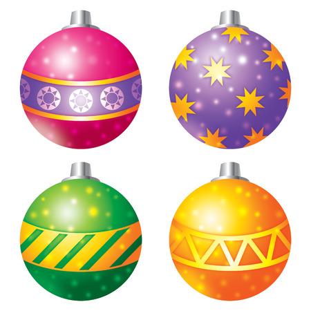 gift season: Christmas balls