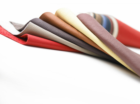 patent leather: Leathers in various colors