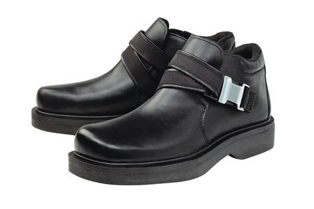 black business men: Leather Shoe