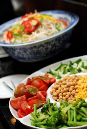 salad buffet: Salad buffet Stock Photo