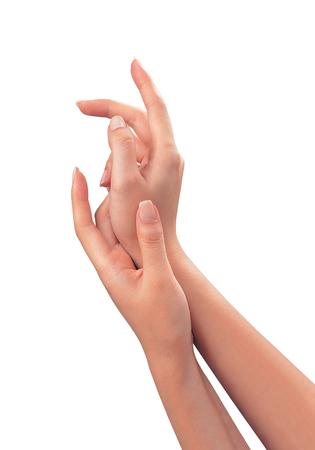 sensuality: Sensuality woman hands Stock Photo