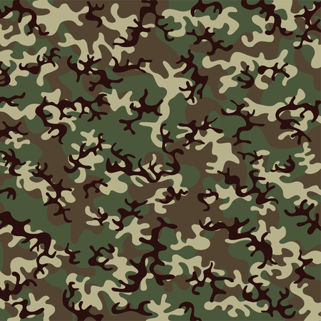 fatigues: Camouflage pattern Illustration