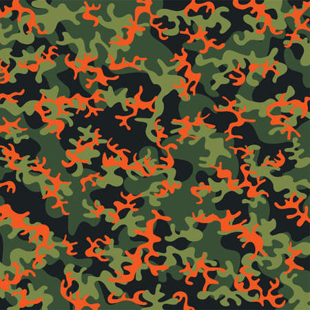 color conceal: Camouflage pattern Illustration