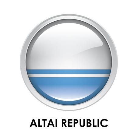 altai: Round flag of Altai Republic
