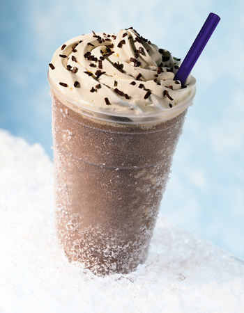 Frappuccino Ice Banque d'images