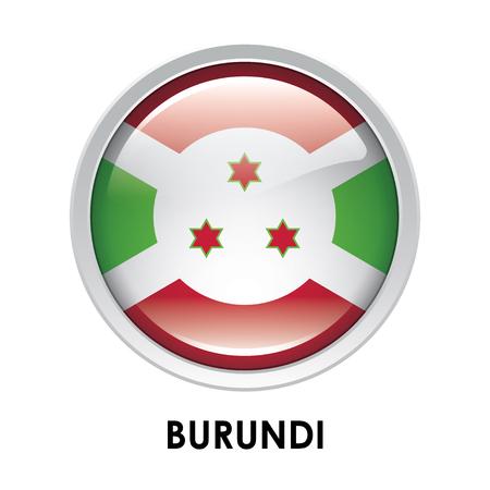 burundi: Round flag of Burundi