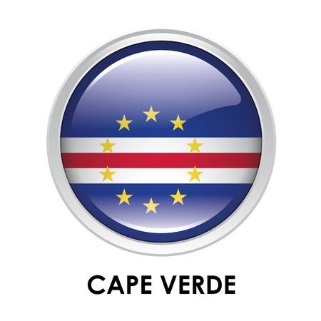 cape verde flag: Round flag of Cape Verde