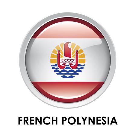 polynesia: Round flag of French Polynesia