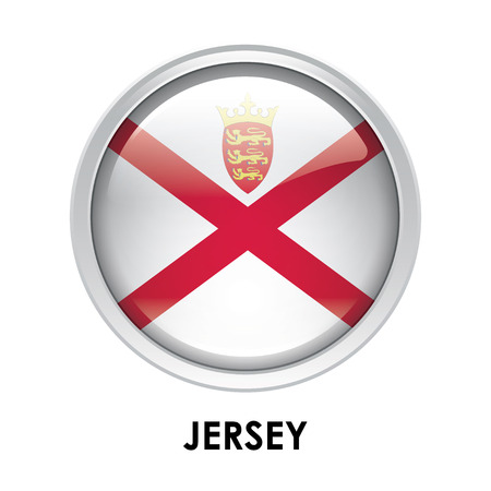 jersey: Round flag of Jersey