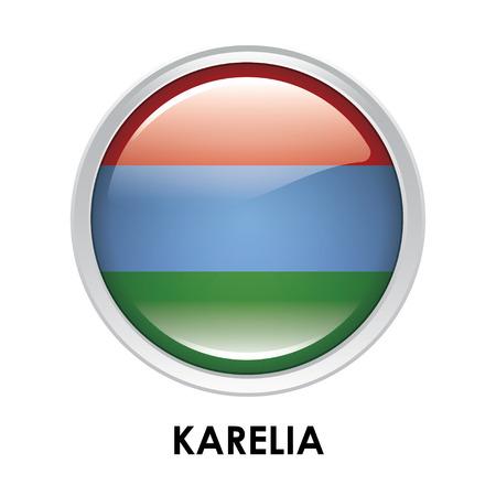 karelia: Round flag of Karelia