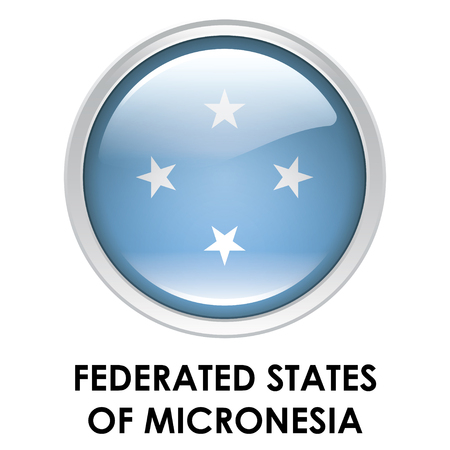 federated: Round flag of Federated States of Micronesia