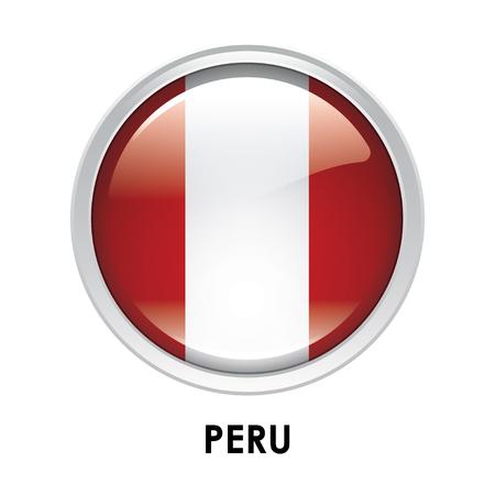 bandera de peru: La bandera redonda de Perú