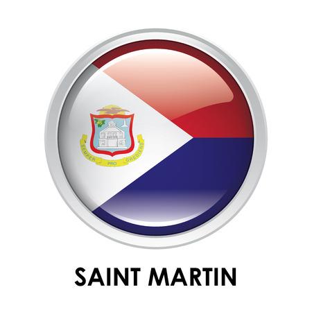 martin: Round flag of Saint Martin