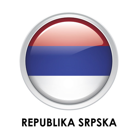 republika: Round flag of Republika Srpska