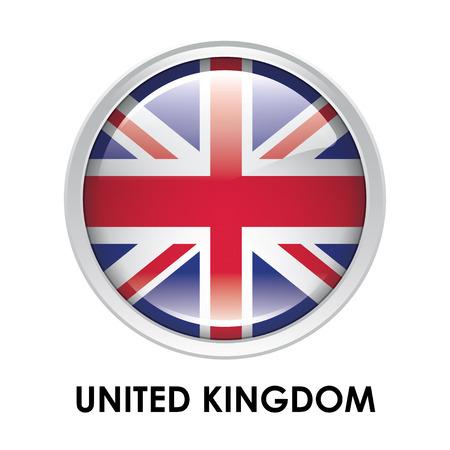 round: Round flag of United Kingdom