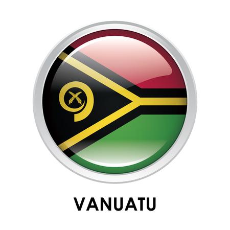 vanuatu: Round flag of Vanuatu