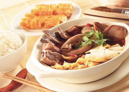 teh: Ba kut teh, stew of pork and herbal soup
