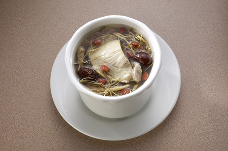 Chinese cuisine herbal soup