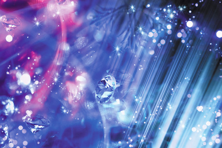 crystallize: Crystal diamond abstract background