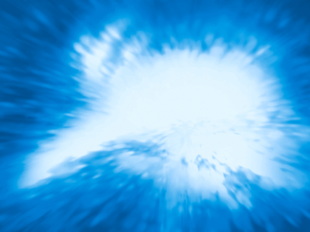 abstract swirl: Blue abstract background