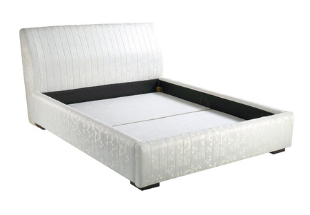 bed frame: Bed frame with headboard