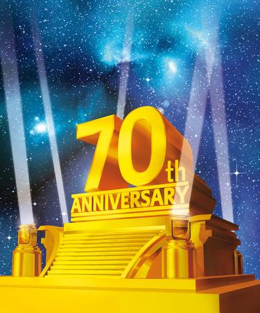 famosos: 70 aniversario de oro