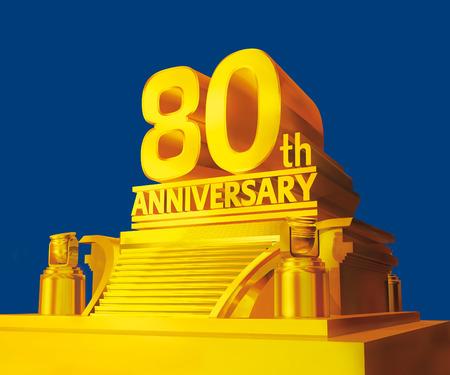 80th: Golden 80th anniversary