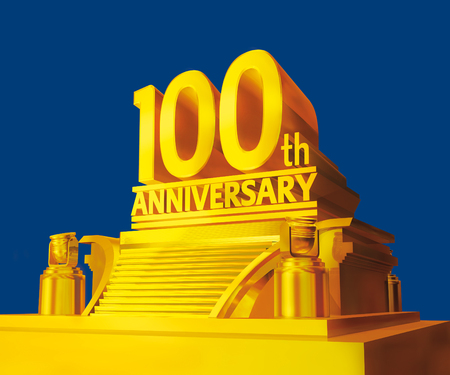Golden 100th anniversary