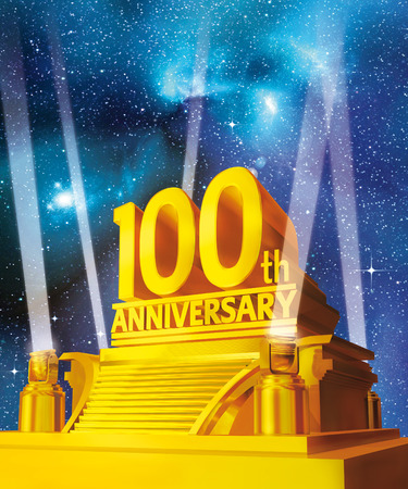 Golden 100th anniversary