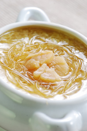 Shark's Fin Soup with Dried Scallops