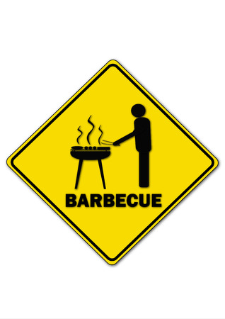 charcoal grill: Barbecue Illustration